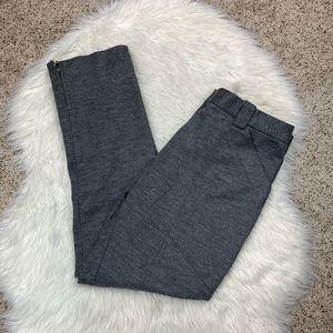 3.1 Phillip Lim Wool Zip Ankle Trouser Pants Gray
